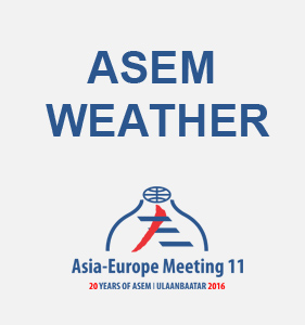 ASEM - Weather forecast